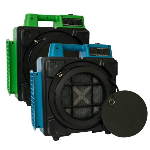 XPOWER X-2480A Professional 3 Stage HEPA Mini Air Scrubber