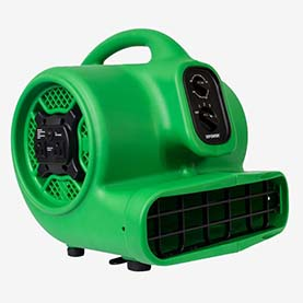 P-430AT 1/3 HP Air Mover, Carpet Dryer, Floor Fan, Blower with Timer and Power Outlets – Air Chaser Exclusive